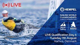 LIVE Sailing | Hempel Sailing World Championships | Qualification Day 6