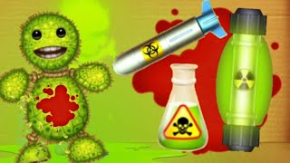 Bio WEAPONS with BLOOD | Kick The Buddy
