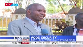 North Rift leaders oppose the importation of maize