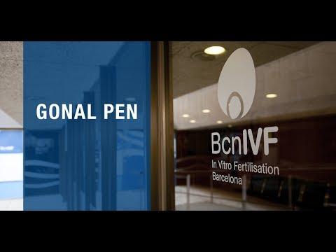 How to administer the Follitropin alfa with the Gonal Pen