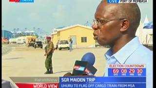 Kenya Railways MD-Atanas Maina reassures Kenyans of the safety of the SGR