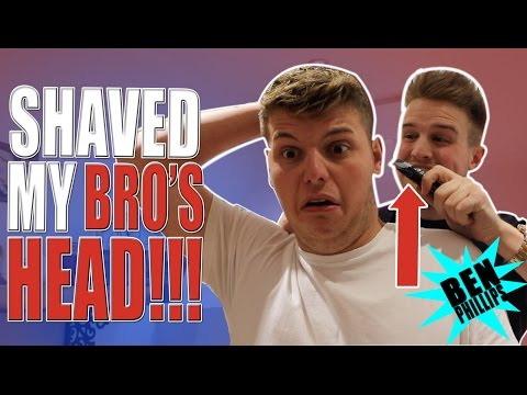 My bro will never forgive me for this! PRANK!