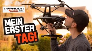 Q500 4K Kamera Drohne - MEIN ERSTER TAG!