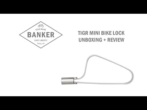 TiGr Mini Bike Lock – Unboxing, Overview, Review