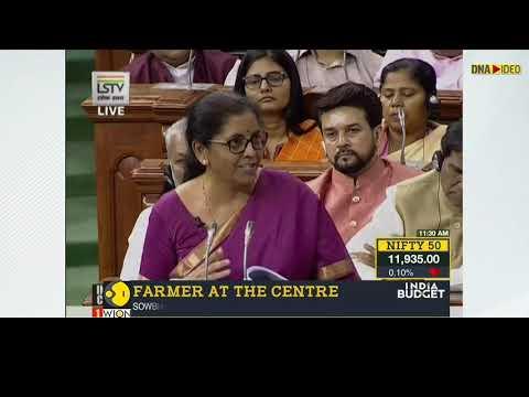 Budget 2019: Nirmala Sitharaman focuses on 'Gaon, Gareeb aur Kisan' in her first Budget