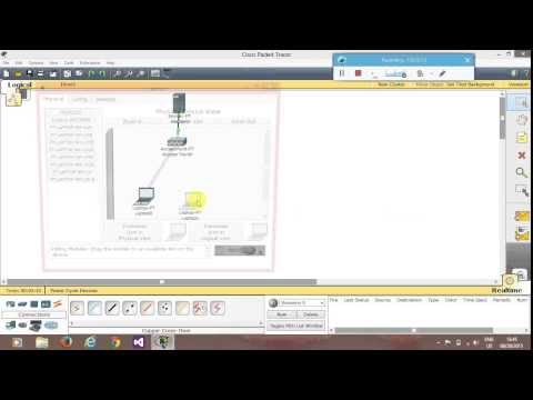 Video Wireless LAN in CISCO Packet Tracer