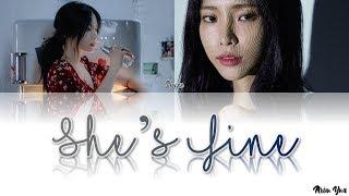 헤이즈 (Heize) - She's Fine (Color Coded Lyrics Han/Rom/Eng)