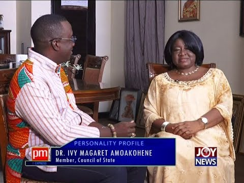 Dr. Ivy Magaret Amoakohene – PM Express on JoyNews (2-7-18) Member, Council of State