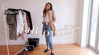 FALL OUTFIT IDEAS LOOKBOOK 🍁| Work Wear, Cute & Casual