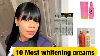 Top 10 most effective skin whitening creams!