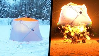 Палатка для зимней рыбалки архангельск