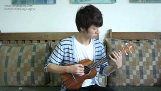 (Christina Perri) A Thousand Years   Sungha Jung (ukulele)