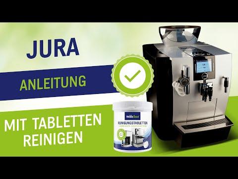 Reinigungstabletten für Jura Kaffeevollautomat. Kompatibel mit allen Vollautomaten & Kaffeemaschinen