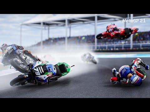MotoGP™21 Crash Compilation   Moments   By Ten Minute #01