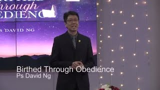 Birthed through Obedience