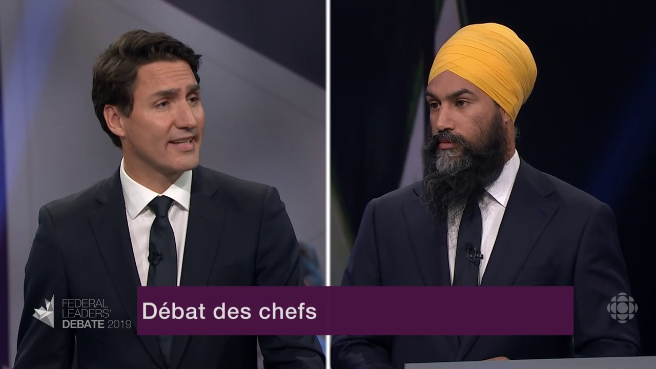 Question de Jagmeet Singh à Justin Trudeau