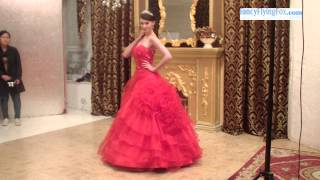 Gothic Bloody Red Sweetheart Neckline Ball Gown Floor Length Sweet 15 Dresses At FancyFlyingFox