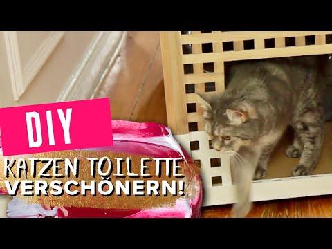 Katzentoilette DIY - Perfekt verstecken #Wohnprinz Werbung