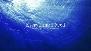 Aquaman OST   Skylar Grey - Everything I Need Piano Cover