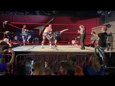 Shawn Donavan & Danny Maff (Sent2Slaughter) vs. Lance Anoa'i & Samu WXWC4 8/3/19