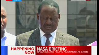 [FULL] Raila Odinga statement on repeat elections