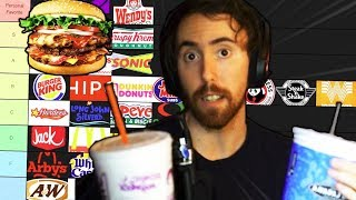 Asmongold's Ultimate FAST FOOD TIER LIST
