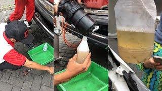 Pengemudi di Malang Syok, Isi 40 Liter Pertamina Dex, Ternyata Bercampur Air