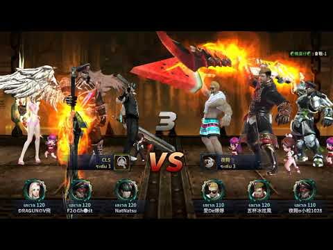 HIT: Heroes of incredible tales Reboot Server Asia Guild war with DFN team