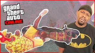 Hilarious Fails In GTA's WORST Game Modes! (GTA 5 Online)
