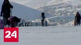 Байкальский остров Ольхон заполонили туристы из Китая