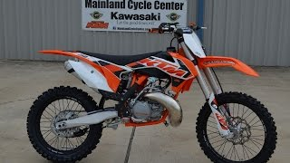 $7,299: 2015 KTM 250 SX 2 Stroke Motocross Bike Overview and Review
