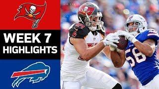 Buccaneers vs. Bills | NFL Week 7 Game Highlights