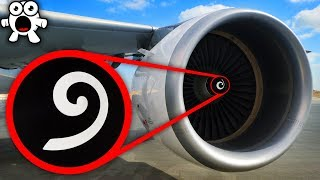 Why These Spirals In Jet Engines Help Save Your Life