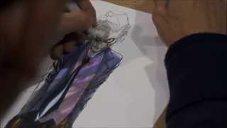 Humberto Ramos Drawing/Sketching The Joker HD 1080P