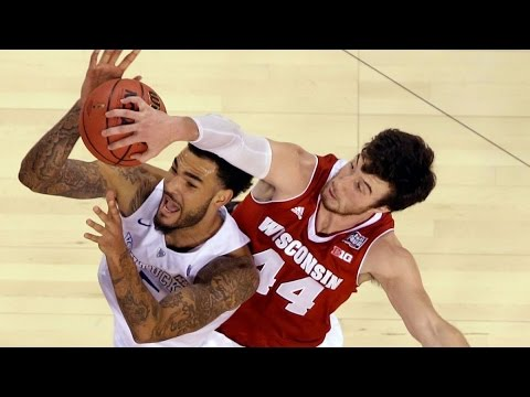 2015 NCAA Final Four Semi Final  Kentucky vs Wisconsin