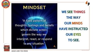 Lead Like You Ride Mindsets Discussion