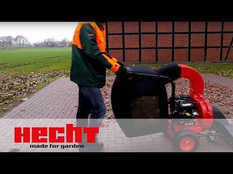 HECHT 8573 Benzin Laubsauger / Häcksler