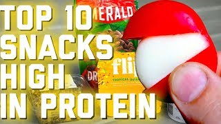 Top 10 High Protein Snacks | Foods High In Protein