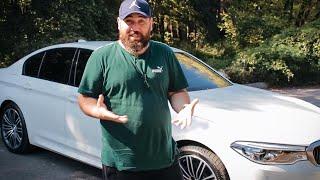 BMW G30, ей бы качества, большой футбол вернулся в Осетию