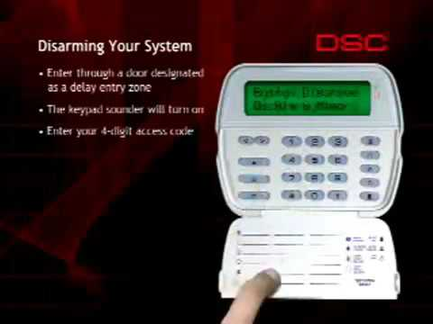 Disarming Your DSC Security System