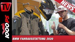 BMW Motorrad Bekleidung 2020 - Überblick Neuheiten