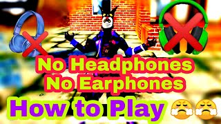 How to Play Pubg Mobile like a pro without headphones and earphones