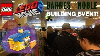 LEGO Movie 2 Event At Barnes & Noble: Free Set And Posters!