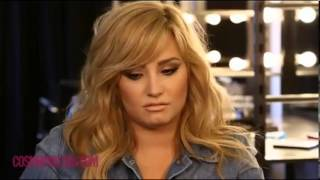 Behind The Scenes With Demi Lovato For Cosmopolitan Magazine