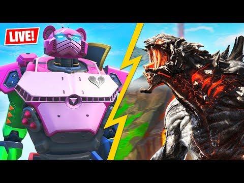 , title : 'ROBOT vs MONSTER EVENT is HAPPENING NOW!! (Fortnite Battle Royale)'