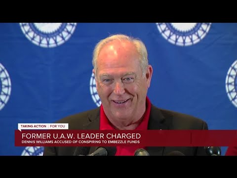 Ex-UAW President Dennis Williams charged in federal corruption investigation