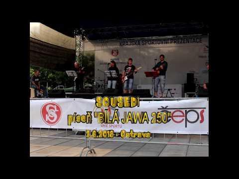 """Sousedi - SOUSEDI - píseň """"BÍLÁ JAWA 250- Ostrava 2.6.2018"""