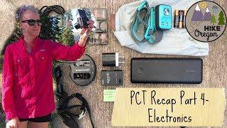 Pacific Crest Trail Recap | Electronics