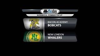 Watch Live: New London vs. Bacon Acadmey in ECC girls' basketball final
