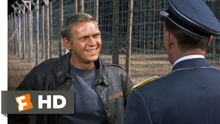 The Great Escape (1/11) Movie CLIP - To Cross the Wire Is Death (1963) High Quality Mp3